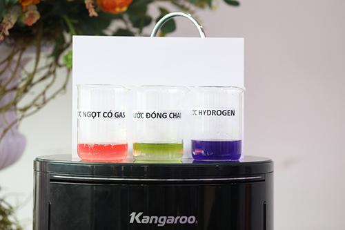 Đo độ kiềm trong nguồn nước hydrogen của máy lọc nước Kangaroo