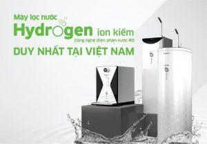 Kangaroo độc quyền công nghệ tạo nước Hydrogen ion kiềm điện phân